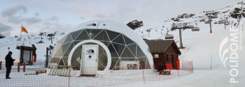 north face tommorowland dome