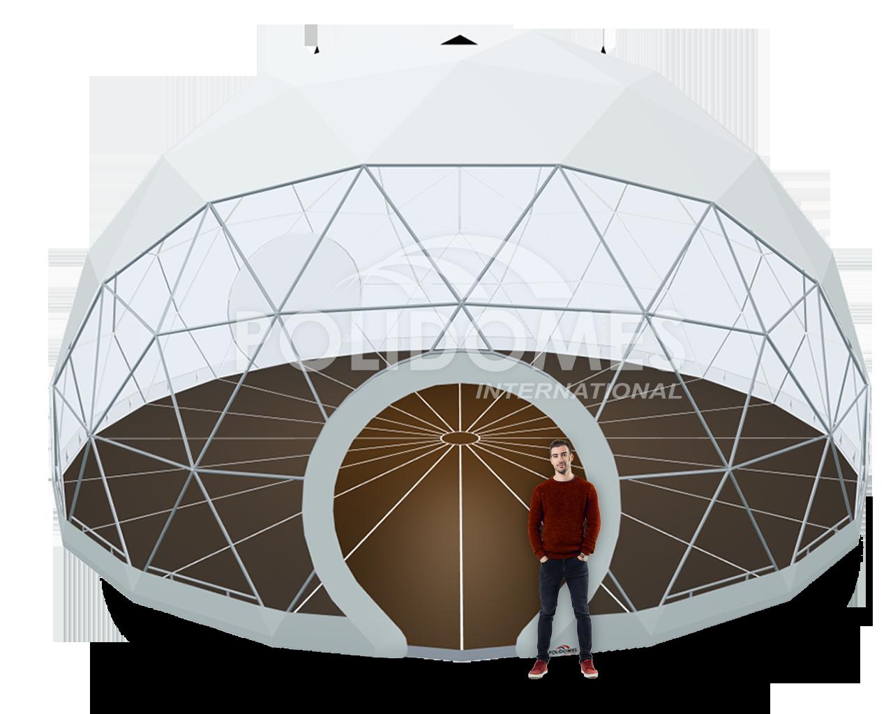 mobile exhibition sphere pavilion