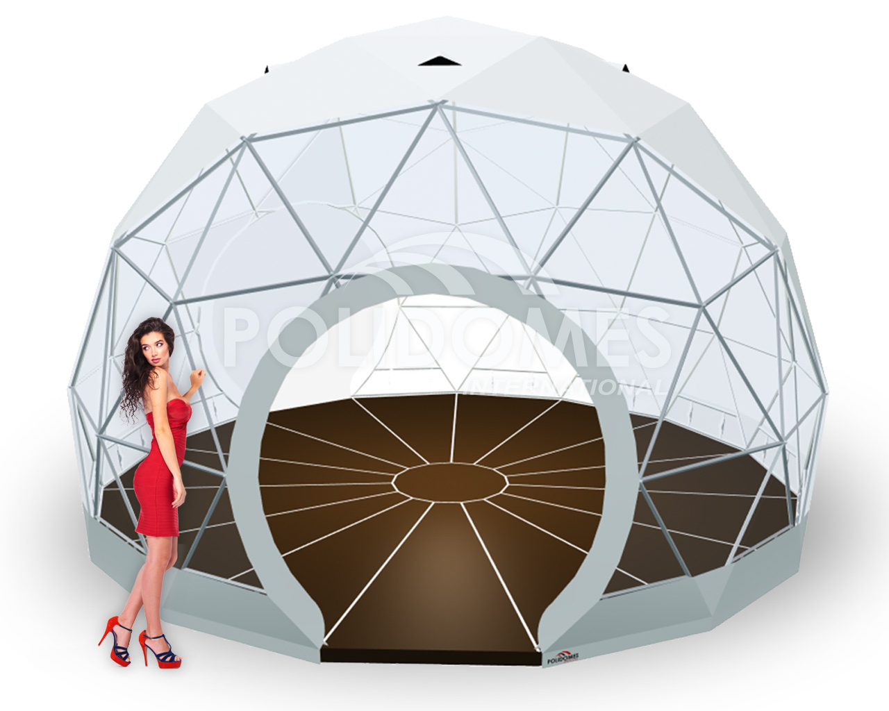 promotional booth dome 30m2