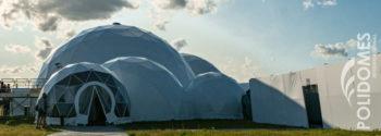 Festival VIP dome tents