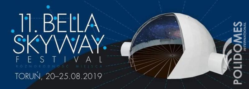bella skyway festiwal projection