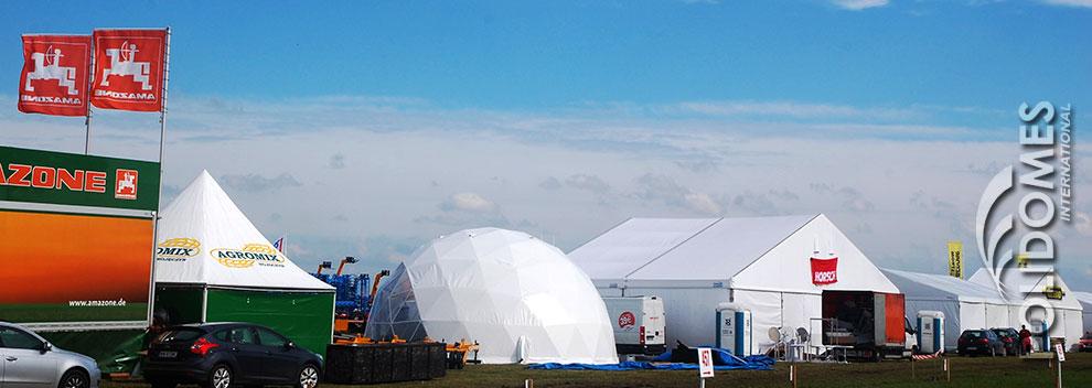 fair in a tent