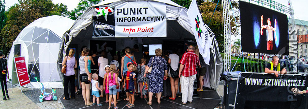 infopoint-tent-carnaval-2013 & PoliDome VIP zone