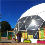 geodesic dome tent membrane
