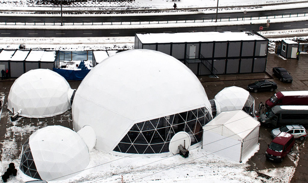 polidome dome tunnels