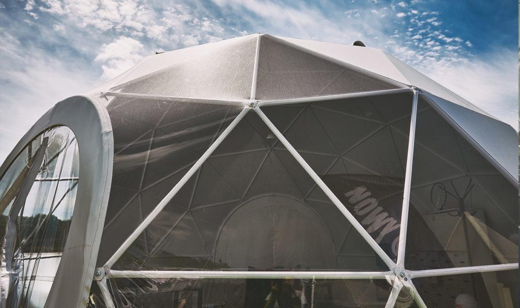polidome tent PVC membrane