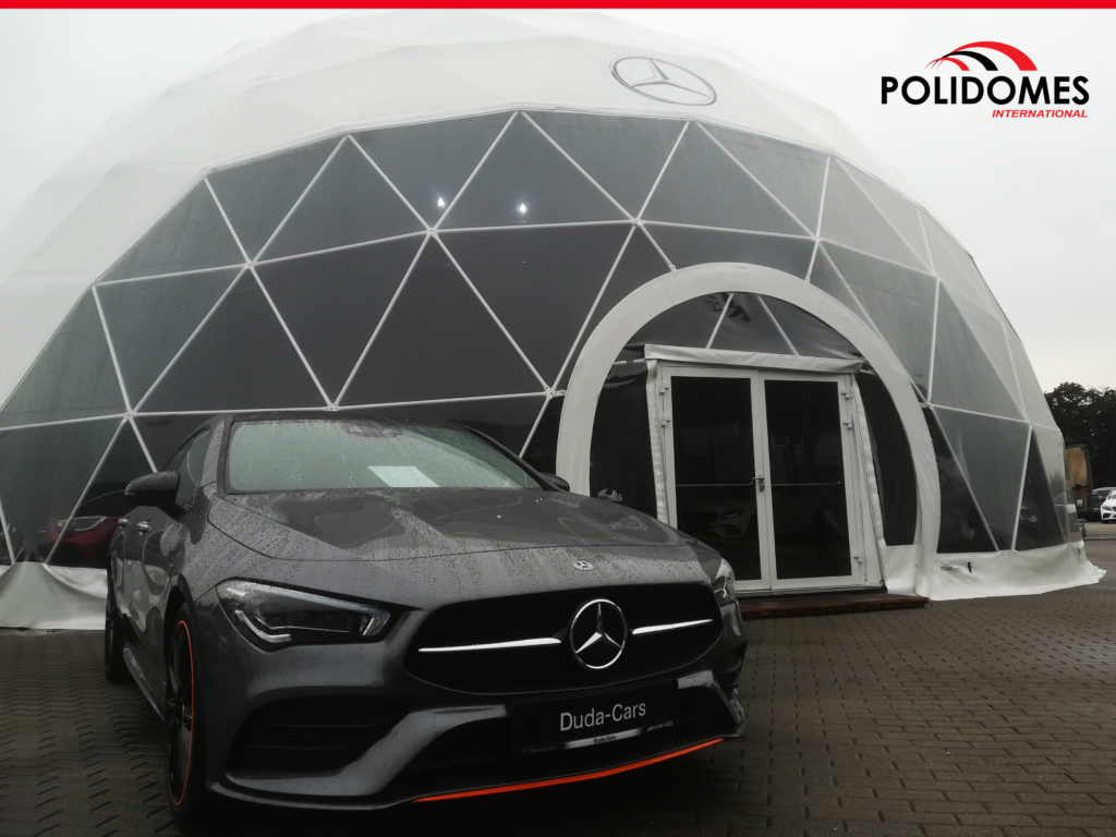 Large Mercedes dome tent
