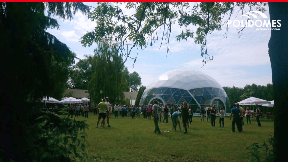 Sphere marquee tent