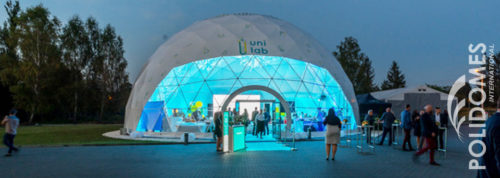 polidomes corporate dome tent