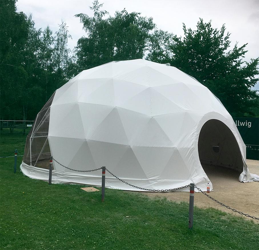 geodome tent 9,5 m diameter