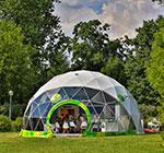 Garnier geodesic dome tent