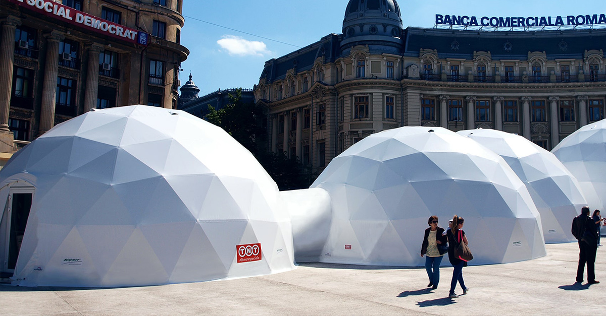 Polidomes com - geodesic dome tents - best event solution