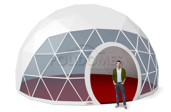 geodesic dome transparent p50