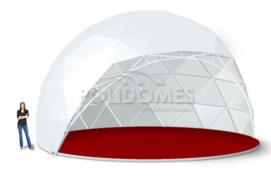 amphitheatre goedesic dome