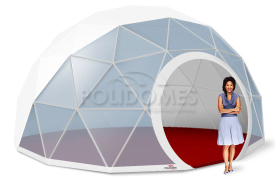 geodesic dome transparent