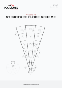 Event dome tent floor scheme p300