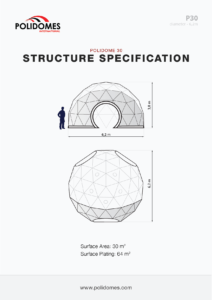 dome tent manufacturer structure specification p30