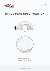 buy geodesic dome tent structure specification p50