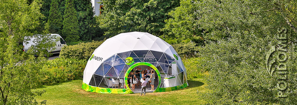 geodesic tent, booth tent for promotion