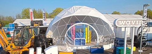 wavin geodesci dome tent